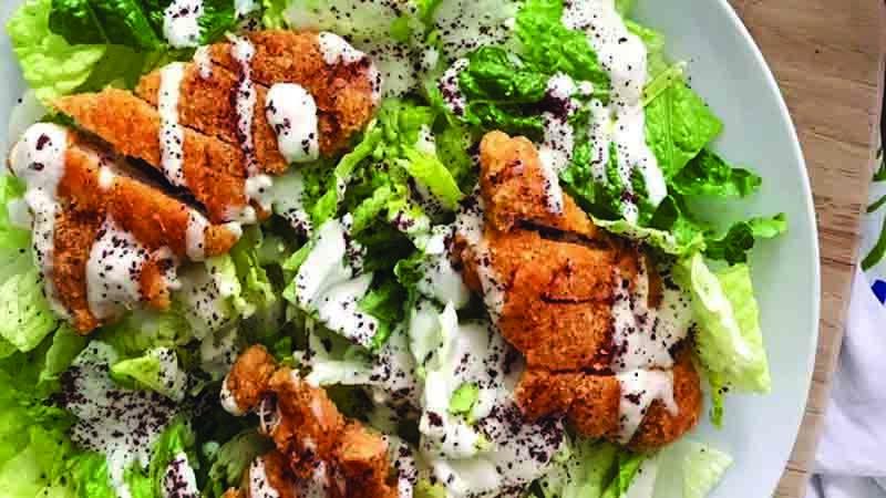 HalalTahiniCesarSalad-Recipes