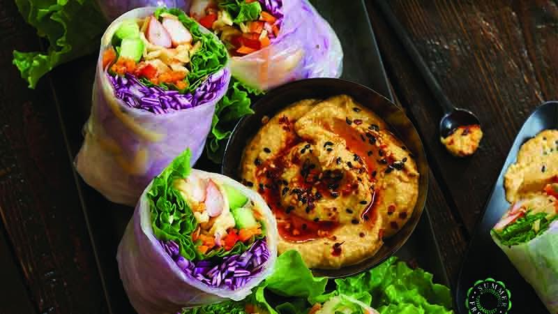 HummusSpringRolls-recipes